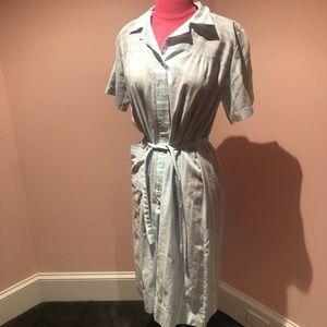 Vintage 70s belted dress SOFT